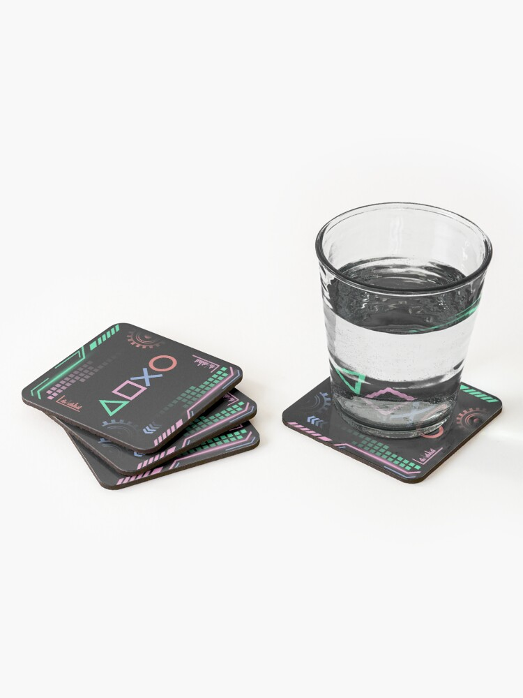 Alternate view of Gamer Life Coasters (Set of 4)