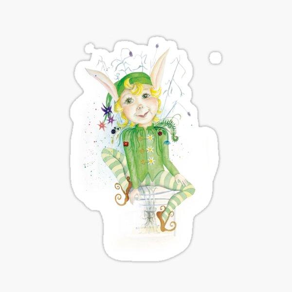 Der grüne Elf – Lavendel Sticker