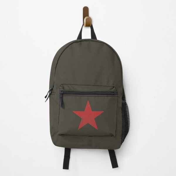 The Red Star (distressed design) Backpack