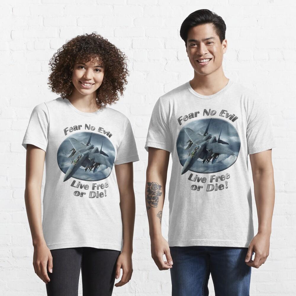 F-15 Eagle Fear No Evil Essential T-Shirt