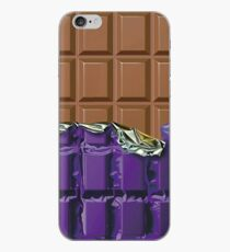 Sweet Tooth - Choclate Candy Bar in Purple Foil iPhone-Hülle & Cover