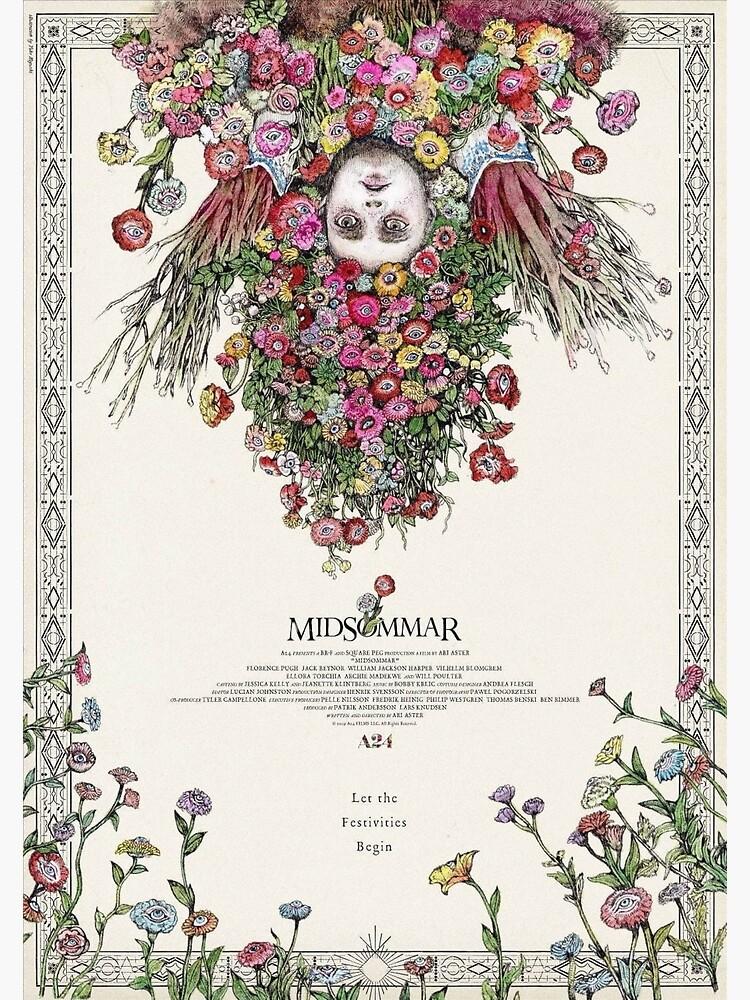 Cartel de película japonesa de Midsommar de tarajxde
