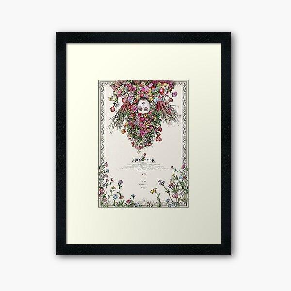 Midsommar Japanese Film Poster Framed Art Print