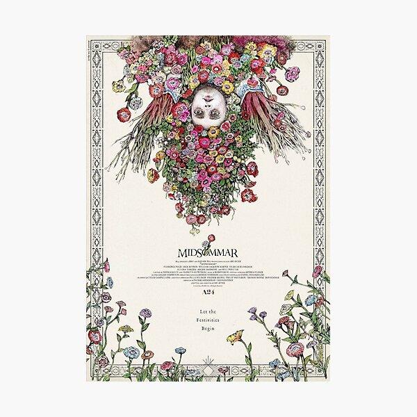 Midsommar Japanese Film Poster Photographic Print
