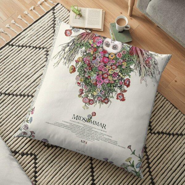 Midsommar Japanese Film Poster Floor Pillow
