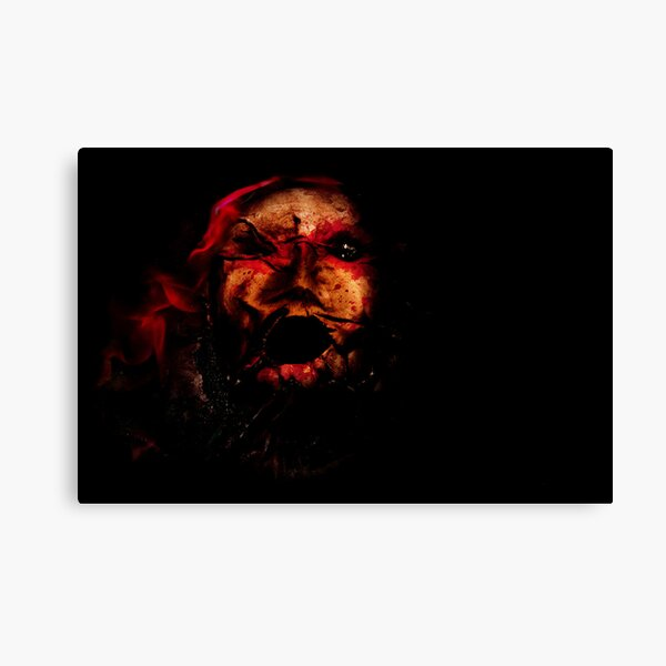 The Evocation of Evil Canvas Print
