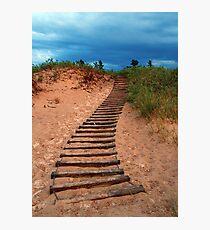 Dune Climb Photographic Print