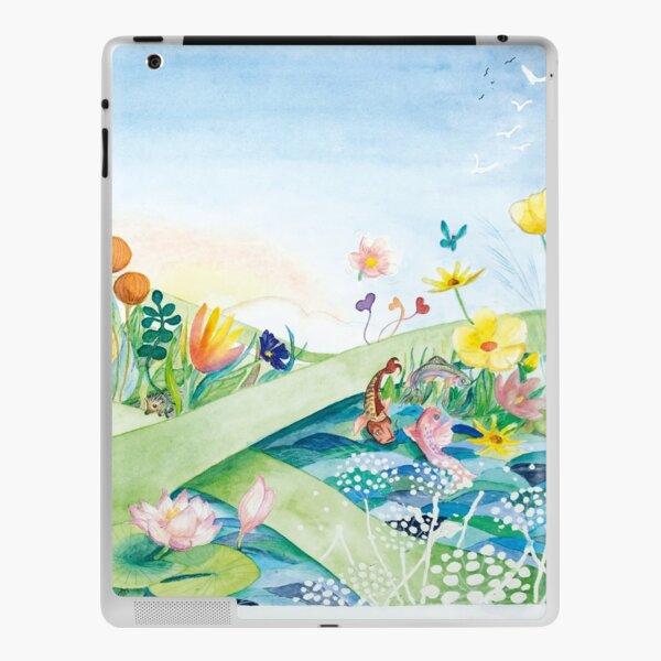 """Ankunft im Land der grünen Hoffnung – aus """"Der grüne Elf"""" iPad Klebefolie"""