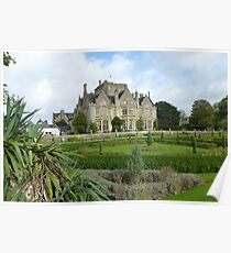 Victorian mansion in Tortworth Poster