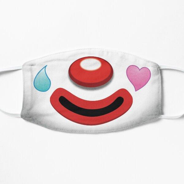 Sad Clown Face Pietro Flat Mask