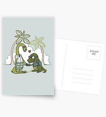 DiNERDsaur Love Postcards