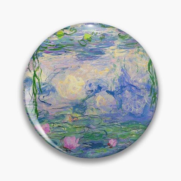Water Lilies - Claude Monet Pin