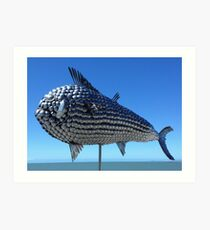 Utensil fish. North Queensland  Art Print