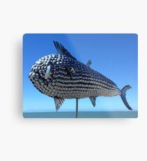 Utensil fish. North Queensland  Metal Print
