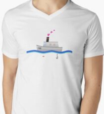 Love Boat Captain Men's V-Neck T-Shirt