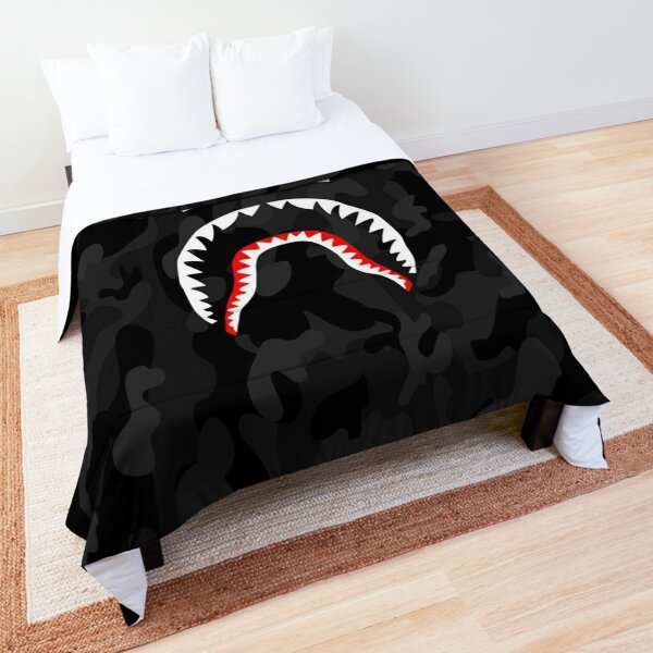 bape camo shark camouflage Comforter