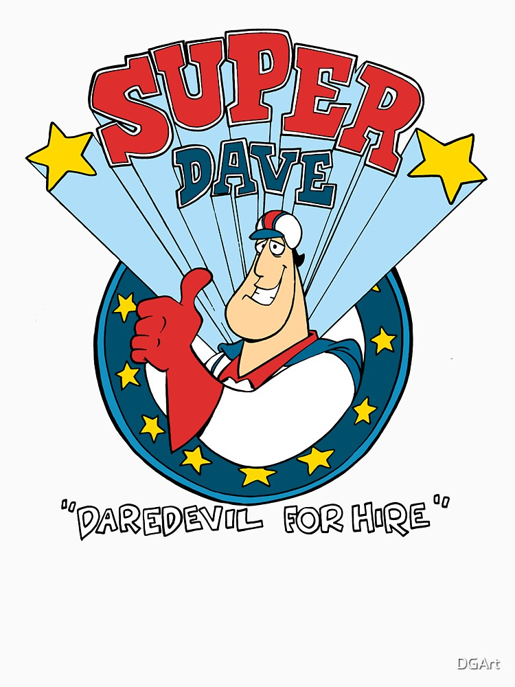 Super Dave: Daredevil for Hire - Logo | Unisex T-Shirt