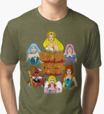 She-Ra Princess of Power - Girls of The Great Rebellion - Color Tri-blend T-Shirt