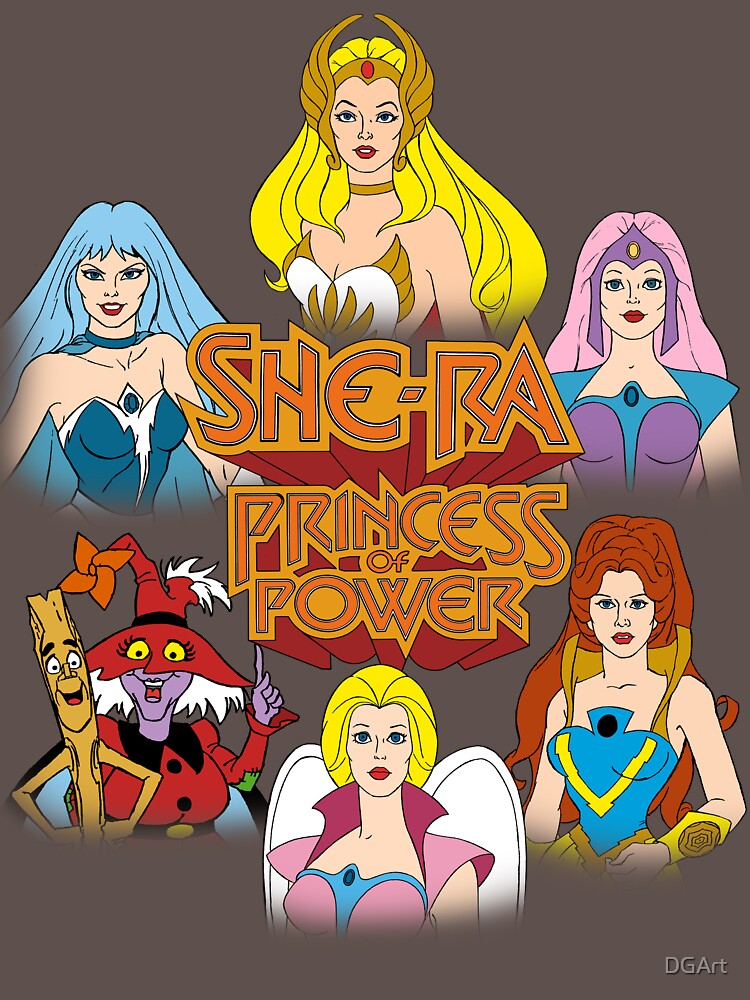 She-Ra Princess of Power - Girls of The Great Rebellion - Color | Unisex T-Shirt