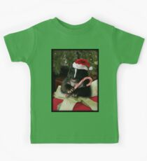 Merry Christmas Skunk Kids Clothes