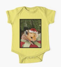 Merry Christmas Hamster Kids Clothes