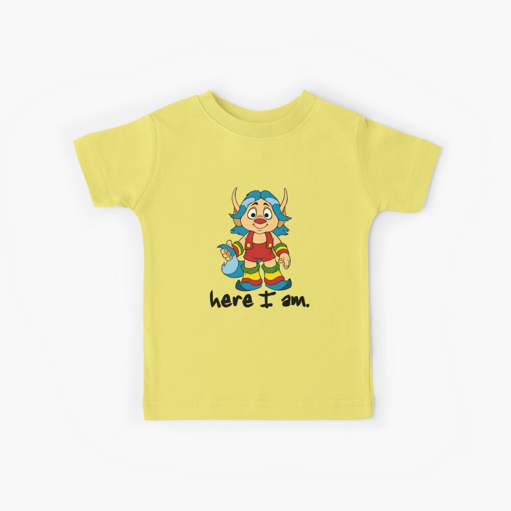 She-Ra Princess of Power - Loo Kee - Here I Am - Black Fuente Camiseta para niños