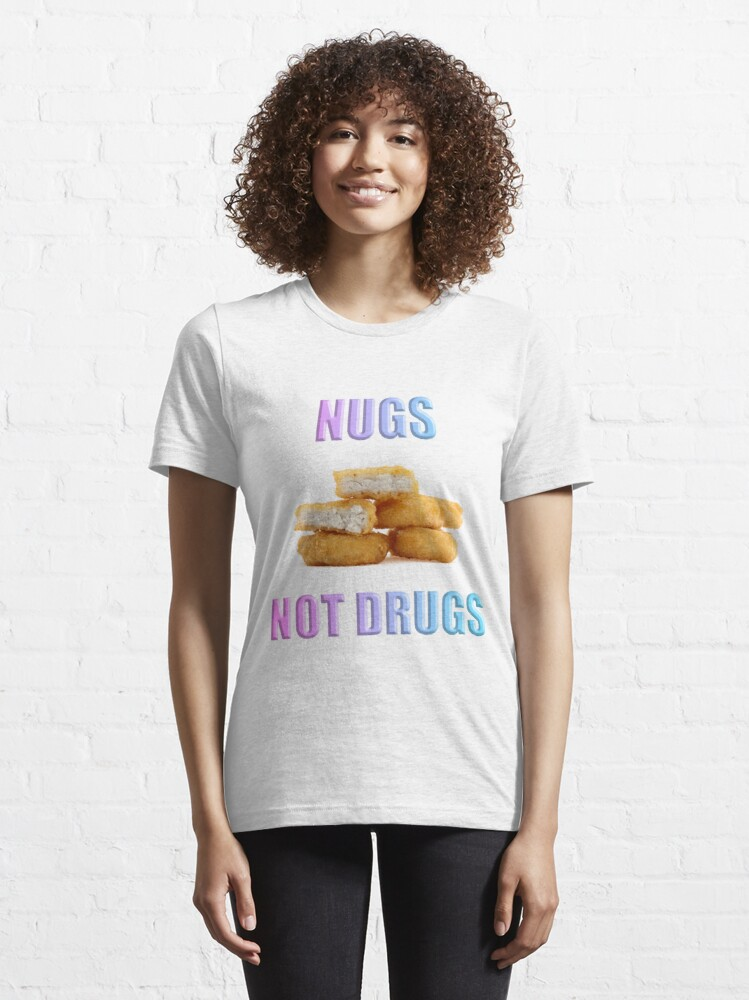 Alternate view of NUGS NOT DRUGS Essential T-Shirt