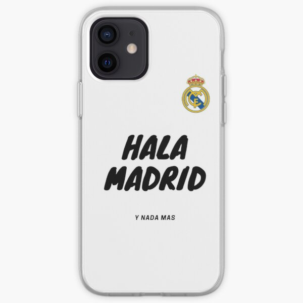 Camiseta de fútbol del Real Madrid Funda blanda para iPhone