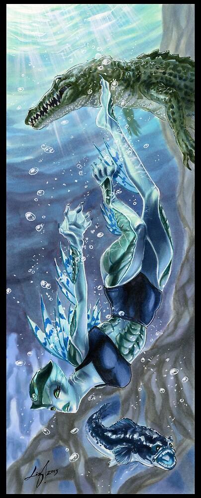 Monster Mistress Swamp Creature by bliz