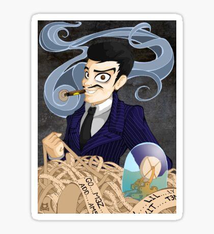 Gomez Addams Sticker