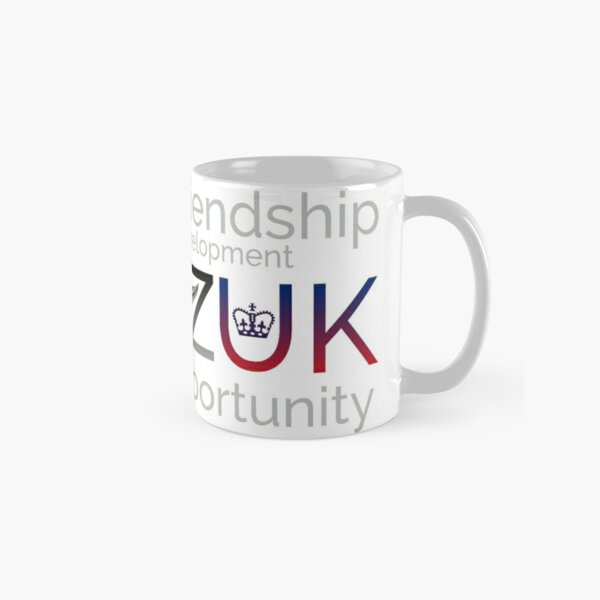 CANZUK: Affiliated Words With Symbols Classic Mug