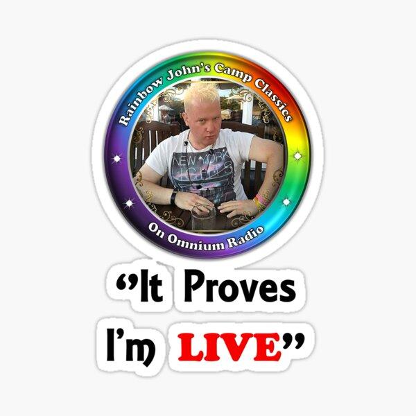 Rainbow John's Camp Classics Sticker