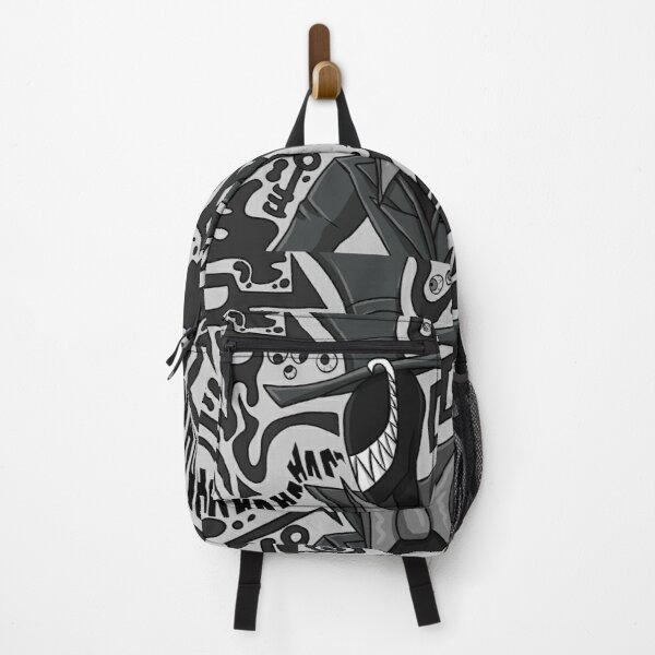 Mr Bubbles design Backpack