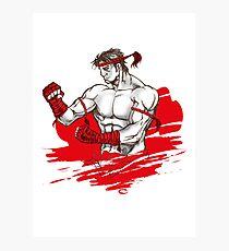 Muay Thai : Born to Fight Photographic Print