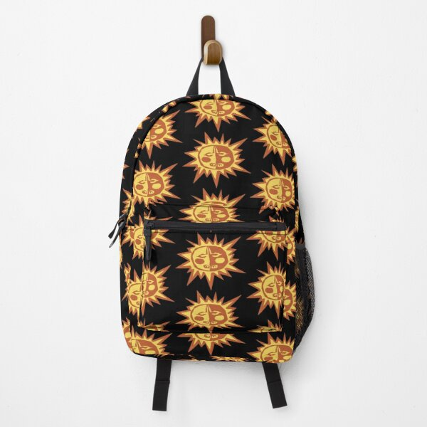 Sun Shape Pattern Backpack