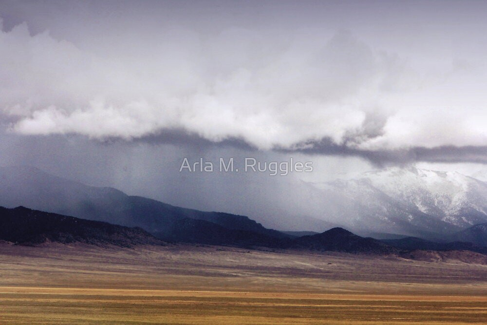 Canopy Of Clouds by Arla M. Ruggles