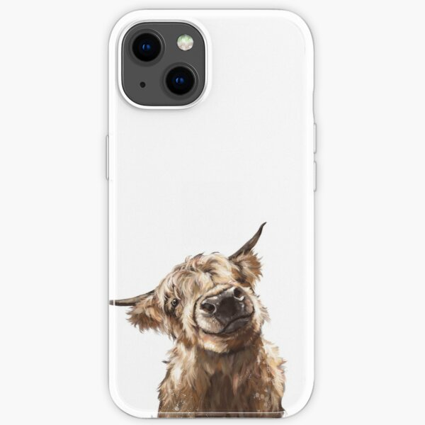 Highland Cow iPhone Soft Case