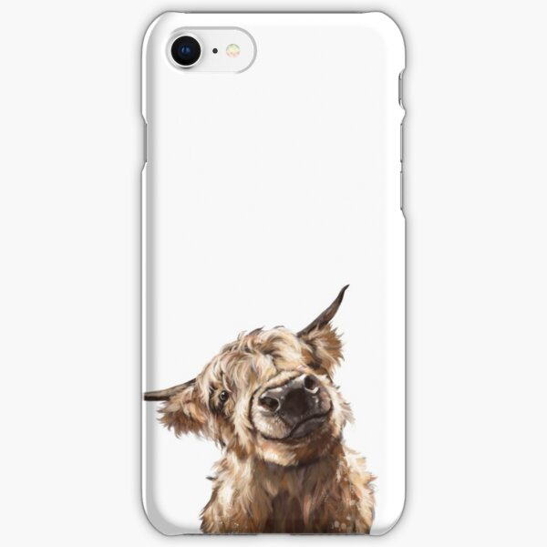 Highland Cow iPhone Snap Case