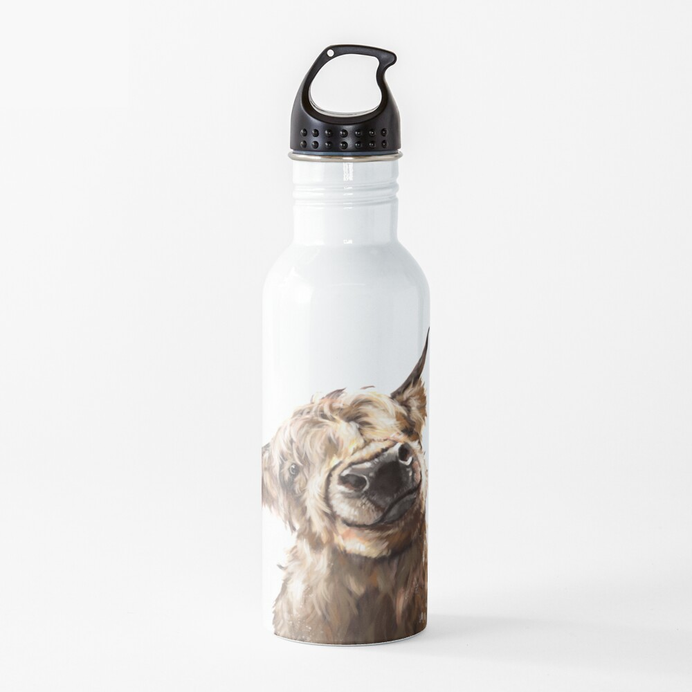 Highland Cow Water Bottle
