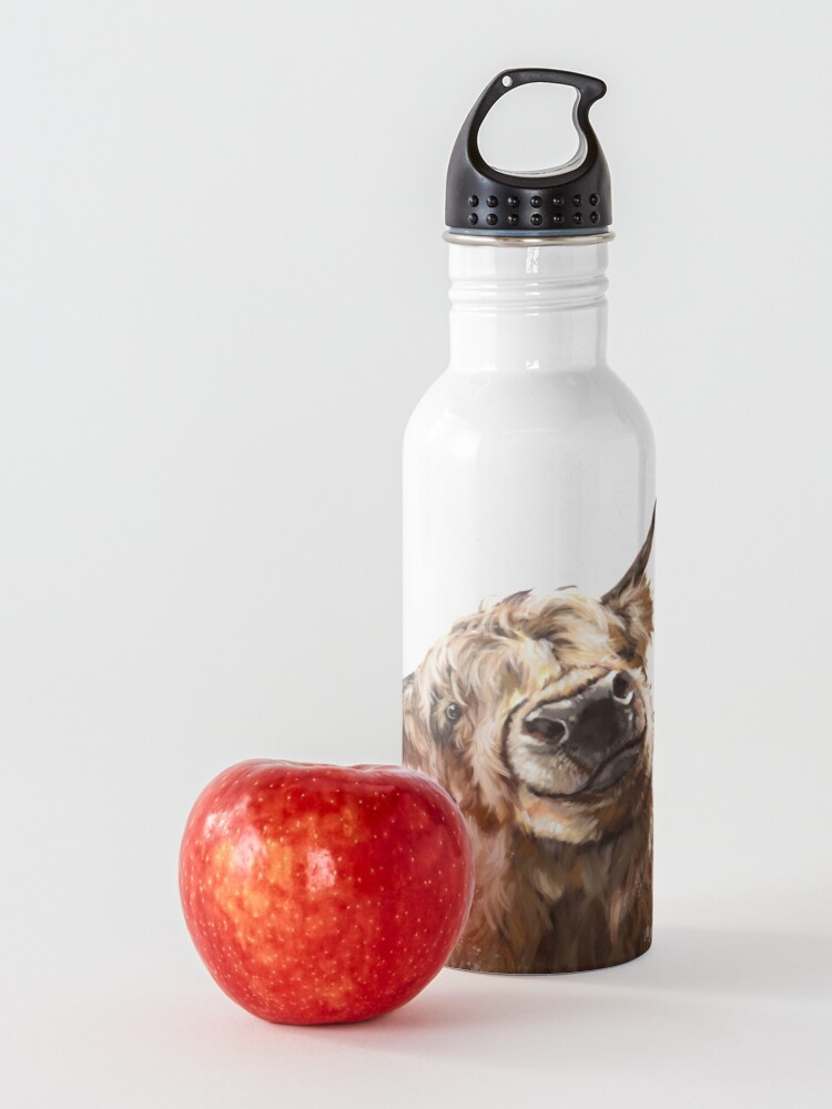 Alternate view of Highland Cow Water Bottle