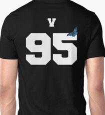 BTS- V 95 Line Butterfly Jersey T-Shirt