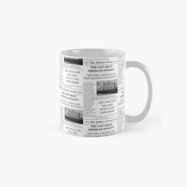 The Last Great American Dynasty Newspaper Classic Mug