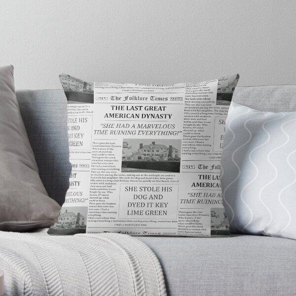 Le dernier grand journal de la dynastie américaine Coussin