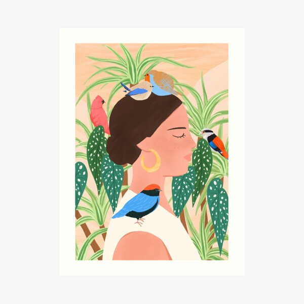 Bird Whisper Art Print