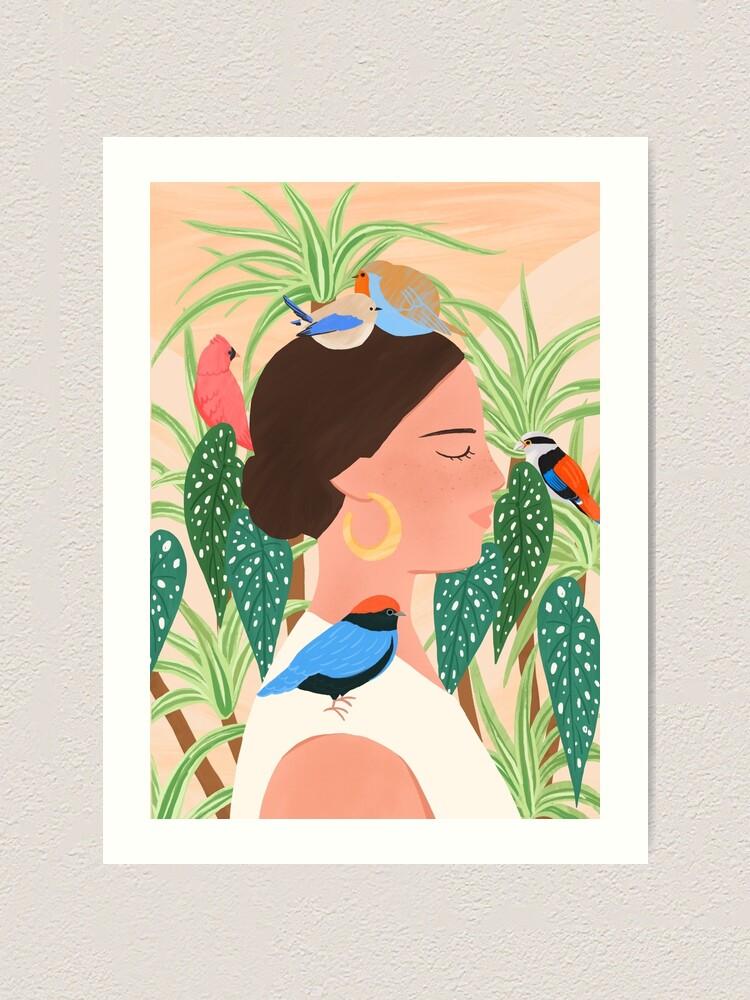 Alternate view of Bird Whisper Art Print