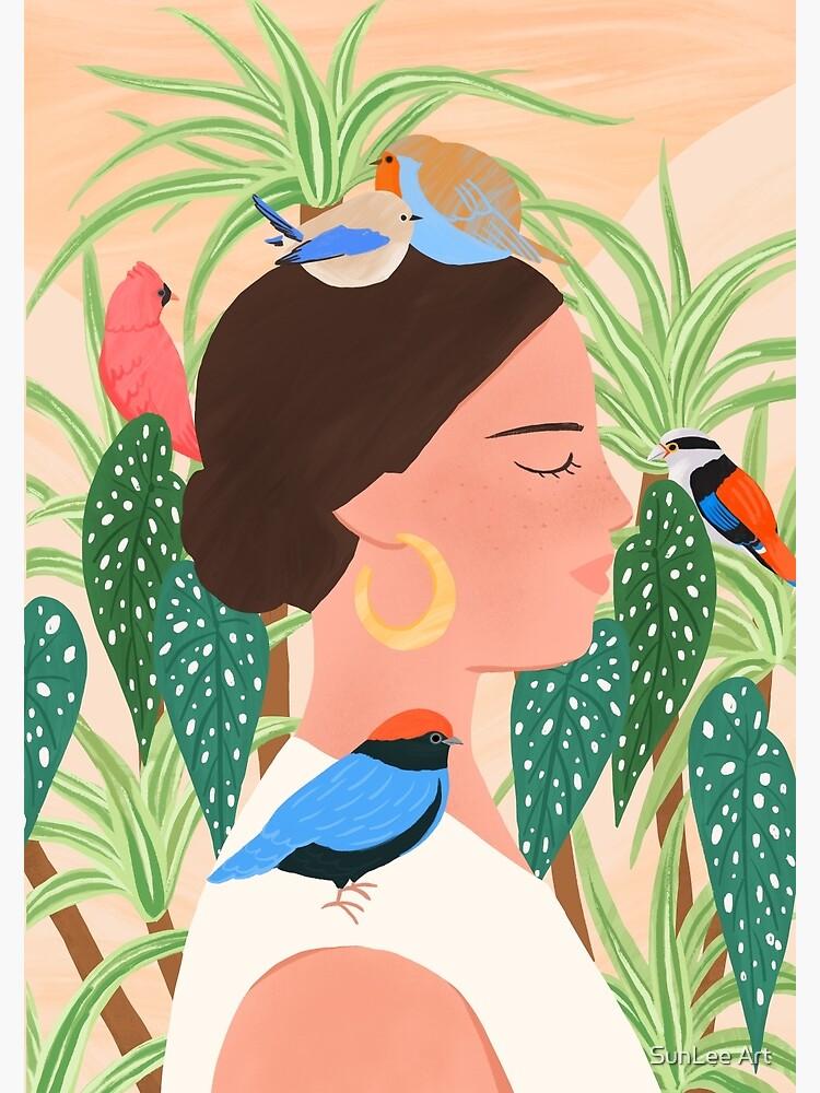 Bird Whisper by sunleeart