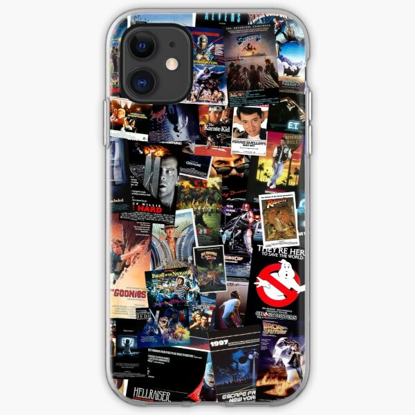1980s Movie Posters iPhone Soft Case