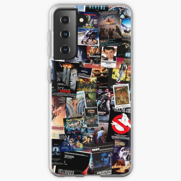 1980s Movie Posters Samsung Galaxy Soft Case