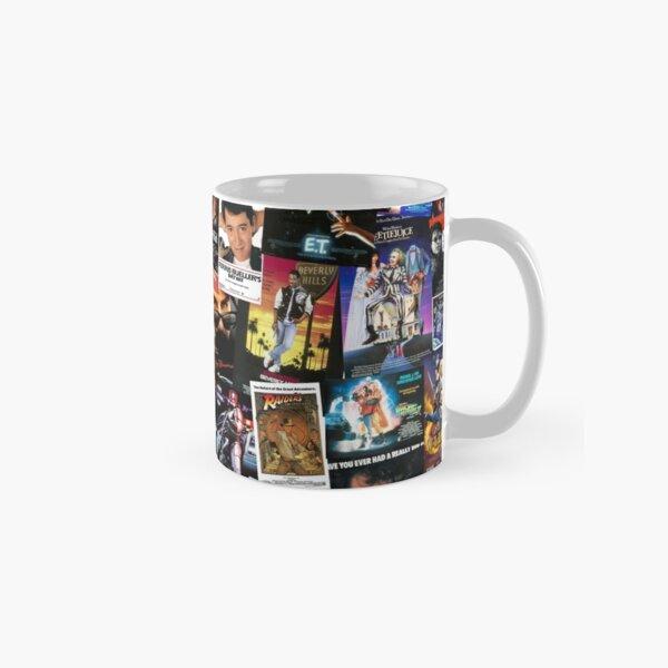 Affiches de films des années 80 Mug classique