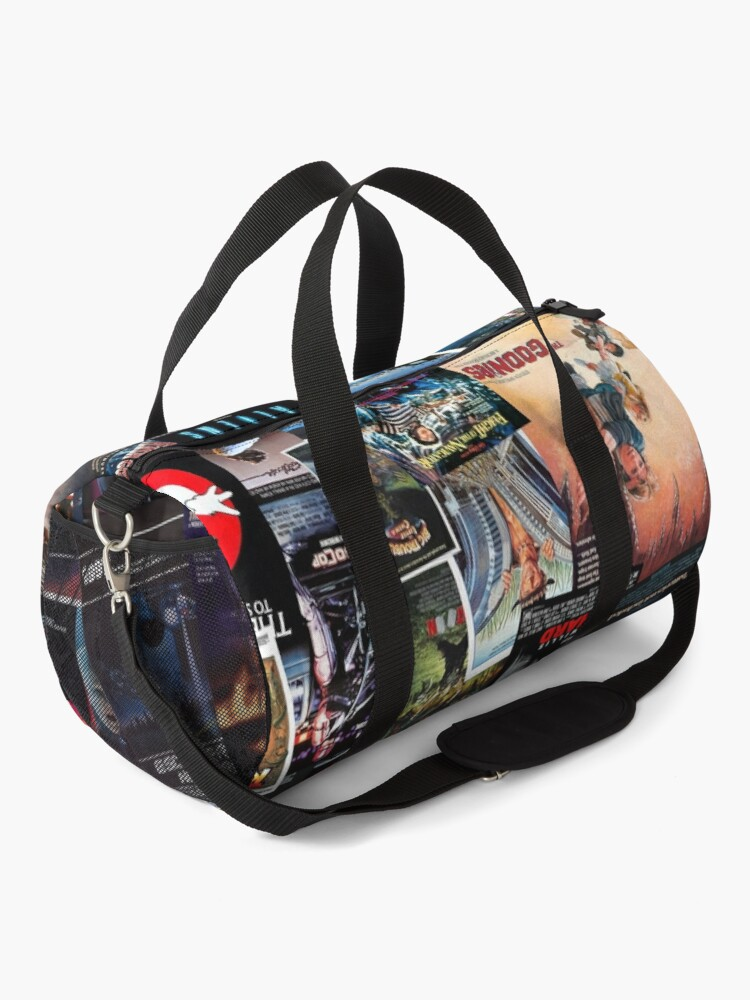 Alternate view of 1980s Movie Posters Duffle Bag